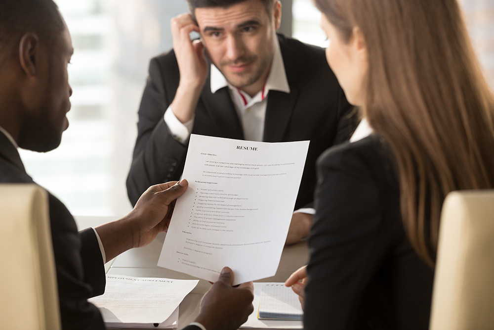 Resume Mistakes that Make Recruiters Cringe